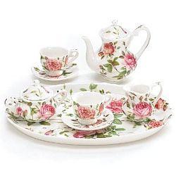 Miniature China Tea Sets