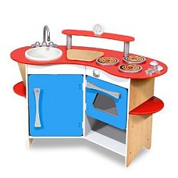 Adorable Kids Toy Kitchen For Sale