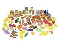Just Like Home Toy Set : 120 piece play food set