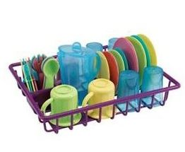 Toy Kitchen Dishes Set