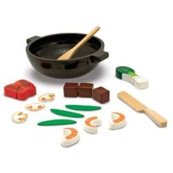 Toy Wooden Food