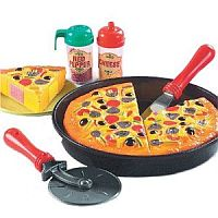 Toy Pizza Play Set