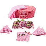 Tea Set Basket