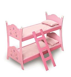 baby doll bunk beds