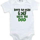 golf themed baby clothes