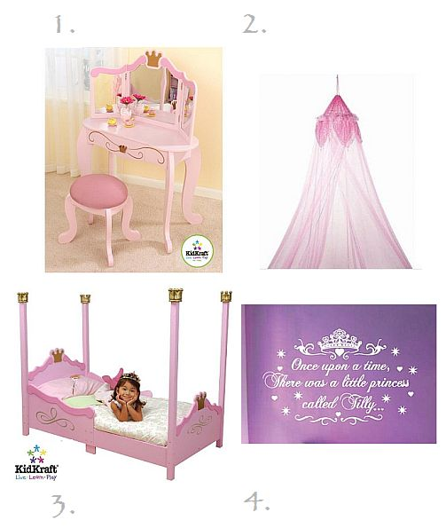 Princess Theme Room Ideas