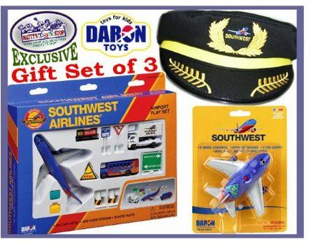southwest toy plane gift set