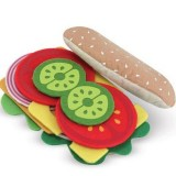 Melissa and Doug Play Food Sandwich